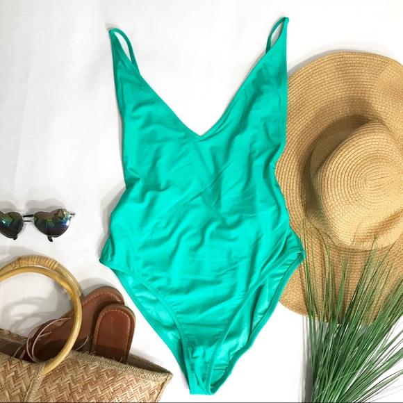 Topshop Other - • Topshop Mint One-Piece Bikini •